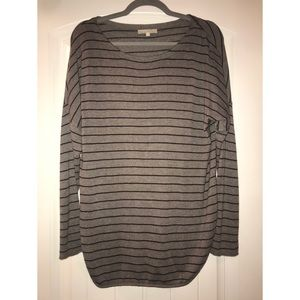 Joan Vass Tunic Sweater